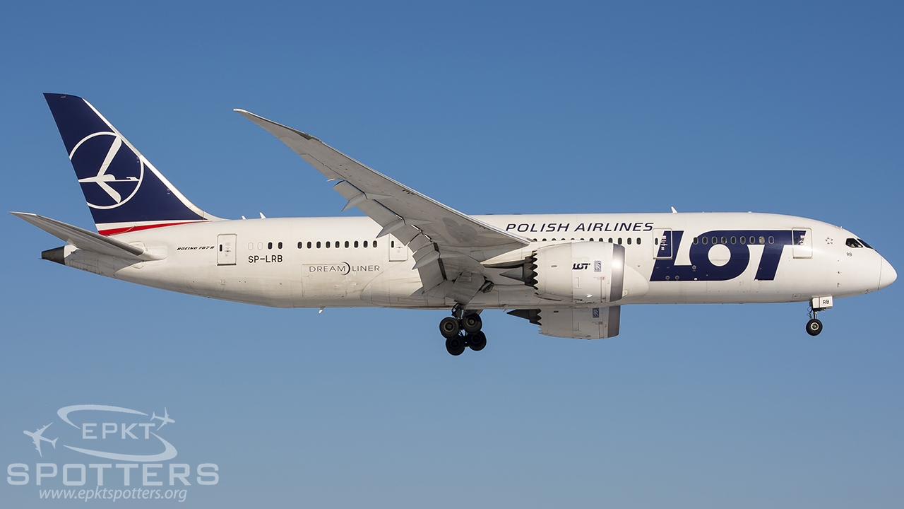 SP-LRB - Boeing 787 -85D Dreamliner (LOT Polish Airlines) / Chopin / Okecie - Warsaw Poland [EPWA/WAW]
